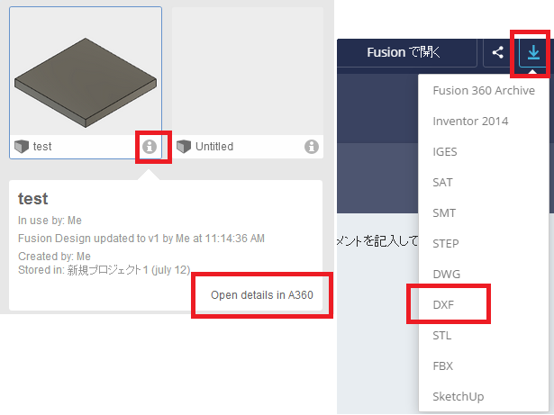Autodesk dwg to dxf converter? & 2D CAD version of Fusion360