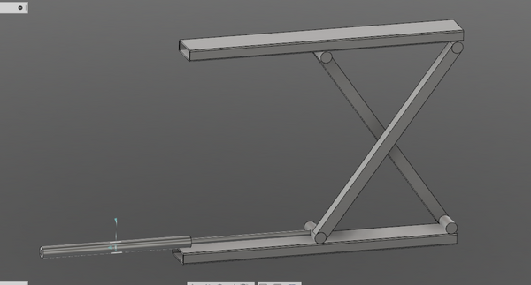 Solved: Scissor jack movement? - Autodesk Community- Fusion 360