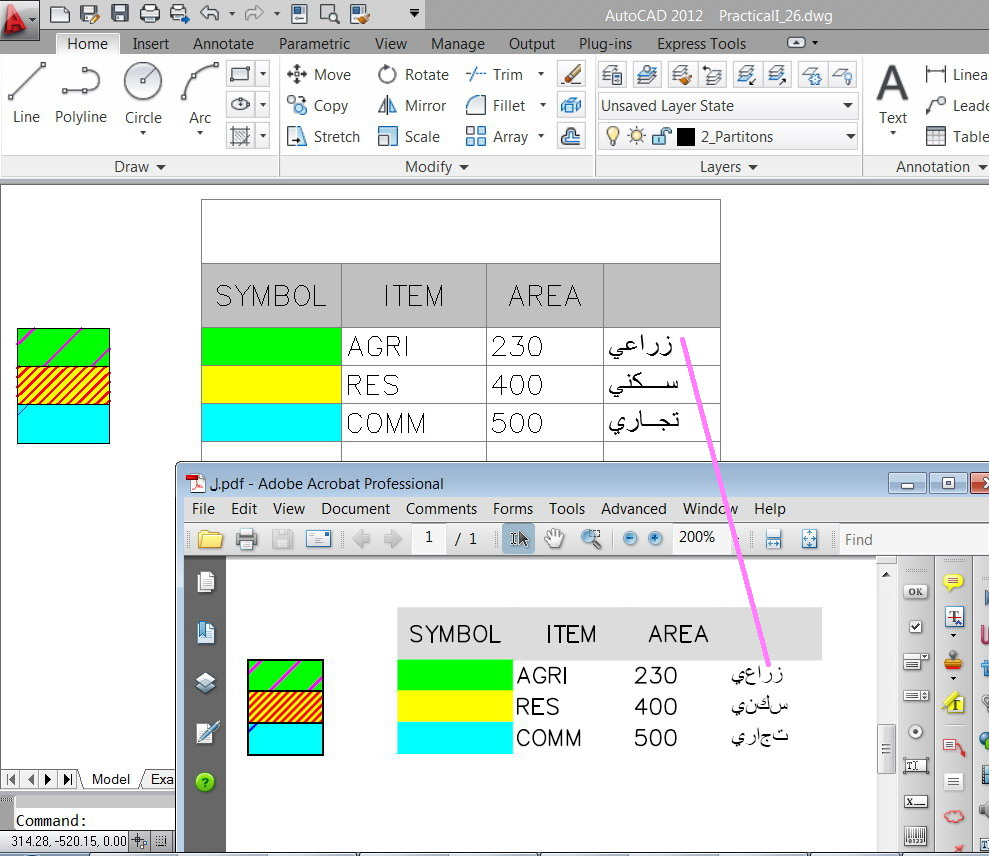 Solved: Arabic font in the AutoCAD, - Autodesk Community