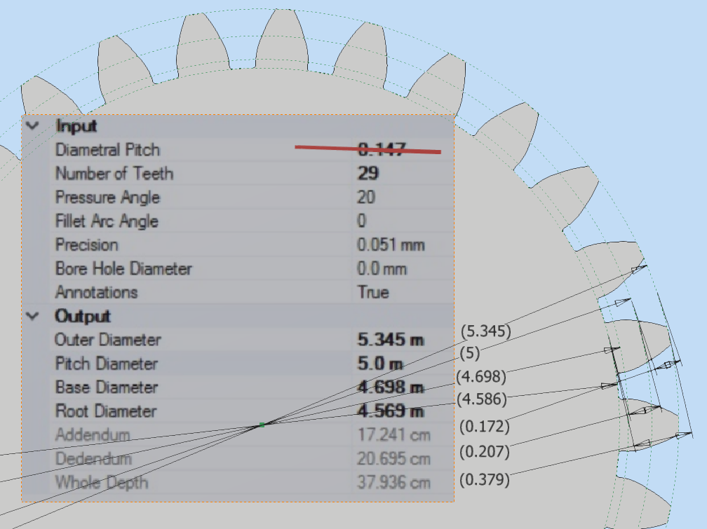 Trouble Creating Large Gear - Autodesk Community- Inventor