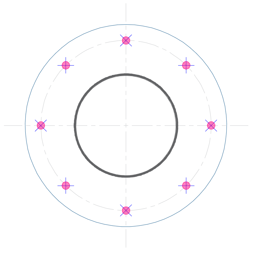 Circular Baseplate Design - Autodesk Community- Robot Structural
