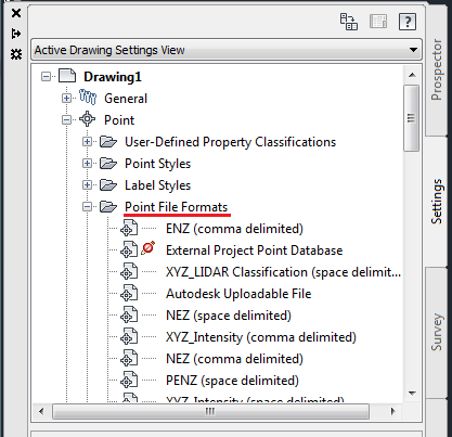 Import points with Long and Lat - Autodesk Community- Civil 3D