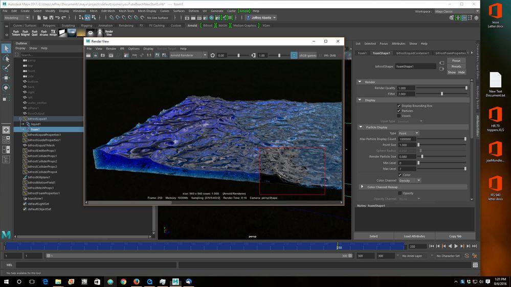 Solved: Rendering foam using Arnold Maya 2017? - Autodesk