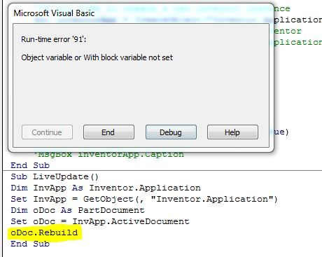 Solved: Open Inventor Part With the help of excel vba - Autodesk