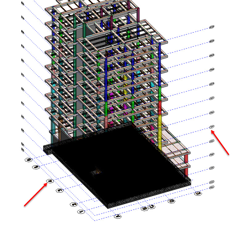 Show Level And Grid In 3d View