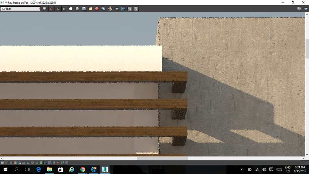 Solved: too much noise/white spots in 3ds max vray render - Autodesk
