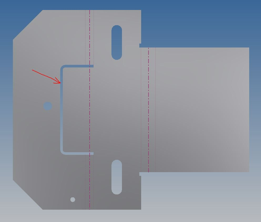 Solved Sheet Metal Bend Within A Face Autodesk Community