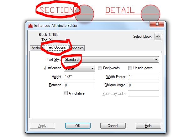 Text style changes when block is inserted - Autodesk