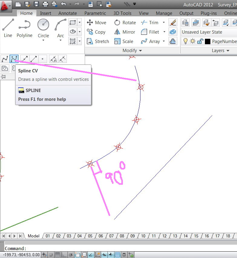 Drawing Lines In Revit : Solved how to draw a line perpendicular on an arc at the