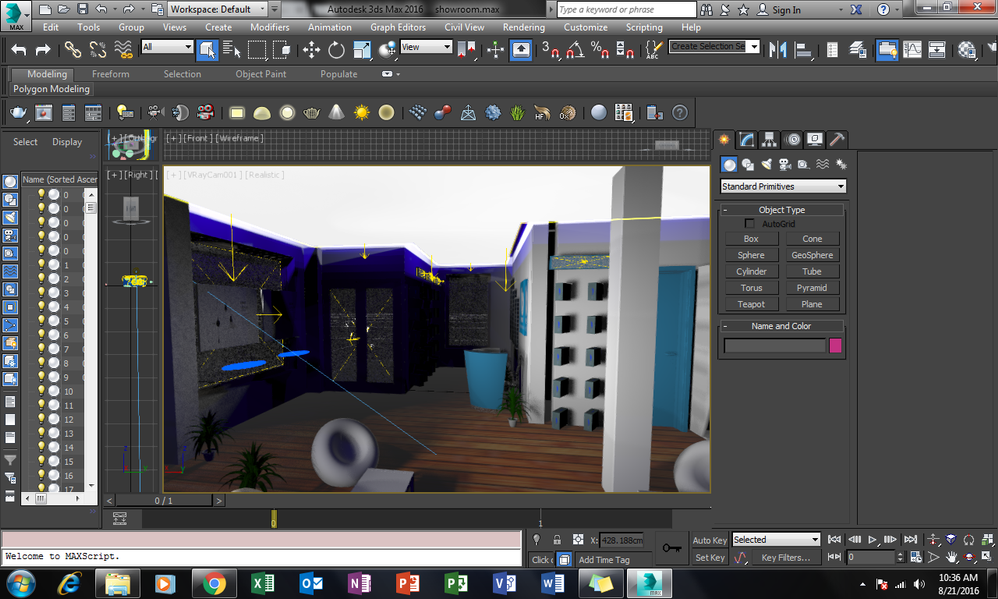 Solved: Vray does not render objects in my scene - Autodesk