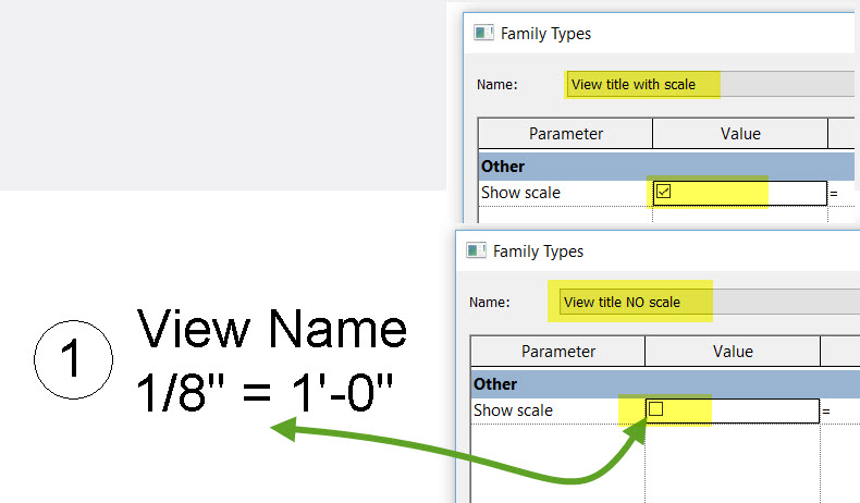 Viewport Title without scale - Autodesk Community- Revit Products