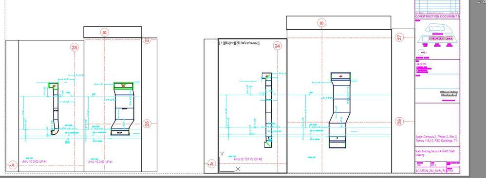 hvac shaft drawing - Autodesk Community- Fabrication Products