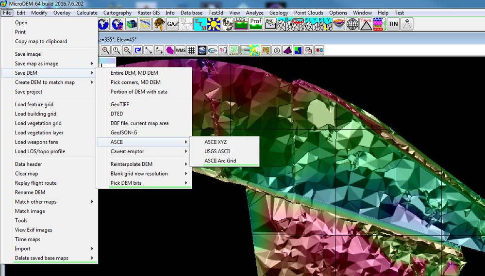 Creation of DEM, georeferenced in the UK - Autodesk Community- Civil 3D