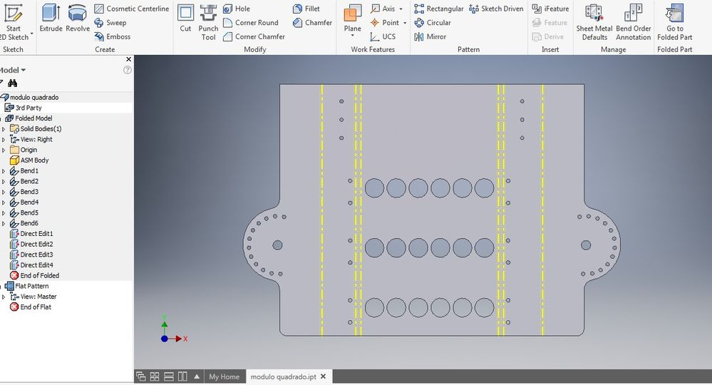 Unfold Sheet Metal From Step File Autodesk Community