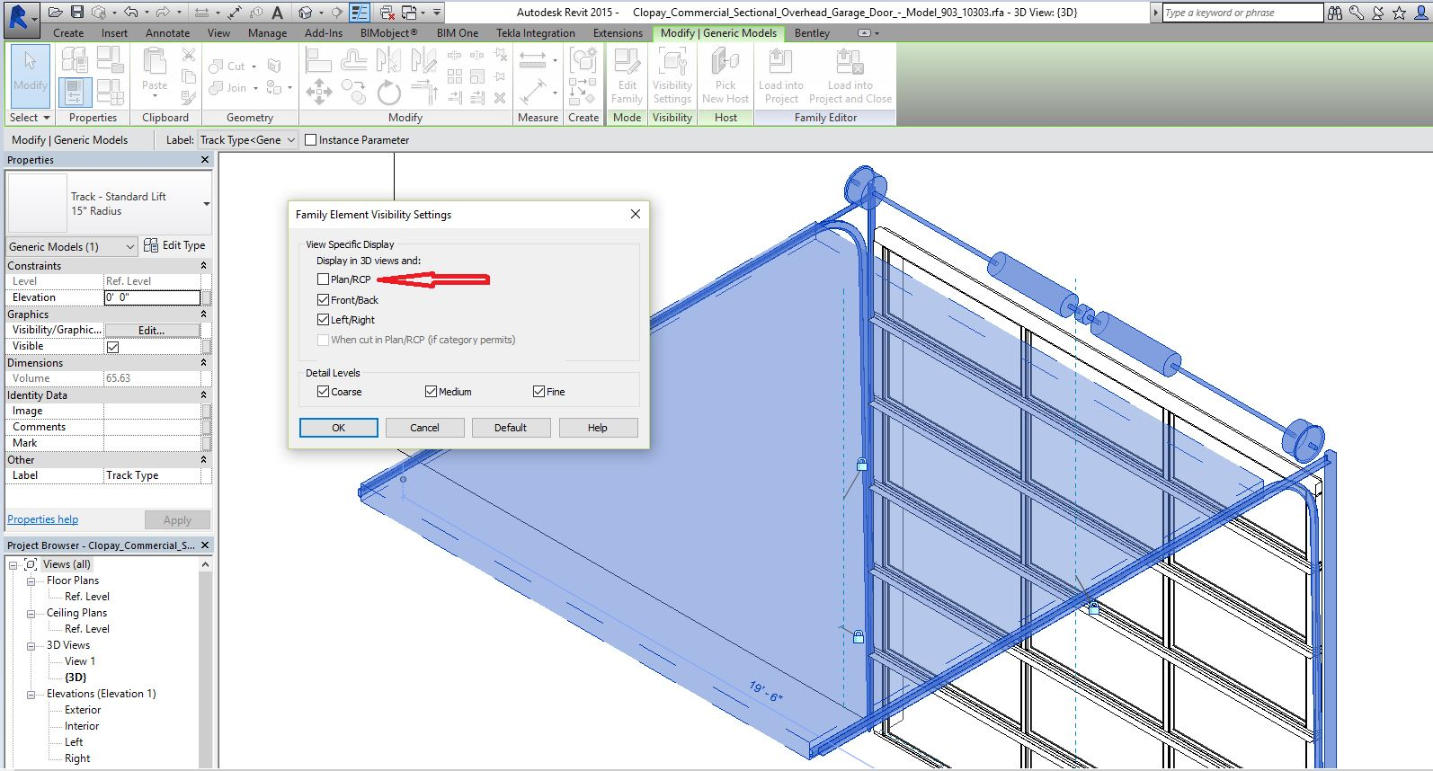 Good Autodesk Revit Garage Door Fluidelectric