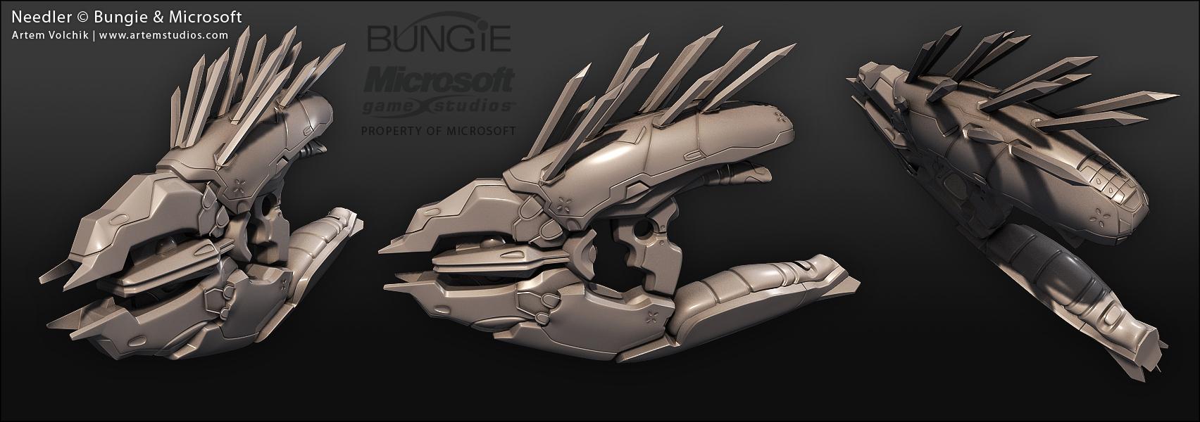 Halo Reach Assault Rifle Project - Autodesk Community