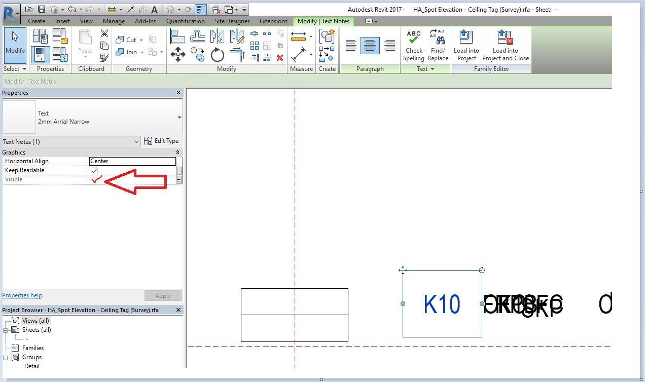 Spot Elevation Plan Revit : Solved revit text in spot elevation symbol does not