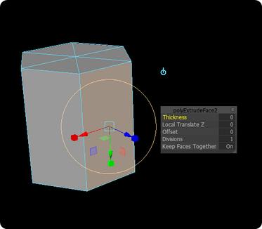 Maya 2017 Extrude Tool Missing Manipulator/Window - Autodesk