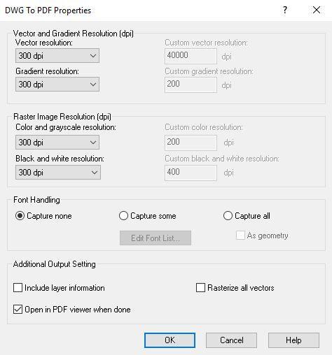 scale pdf file in autocad