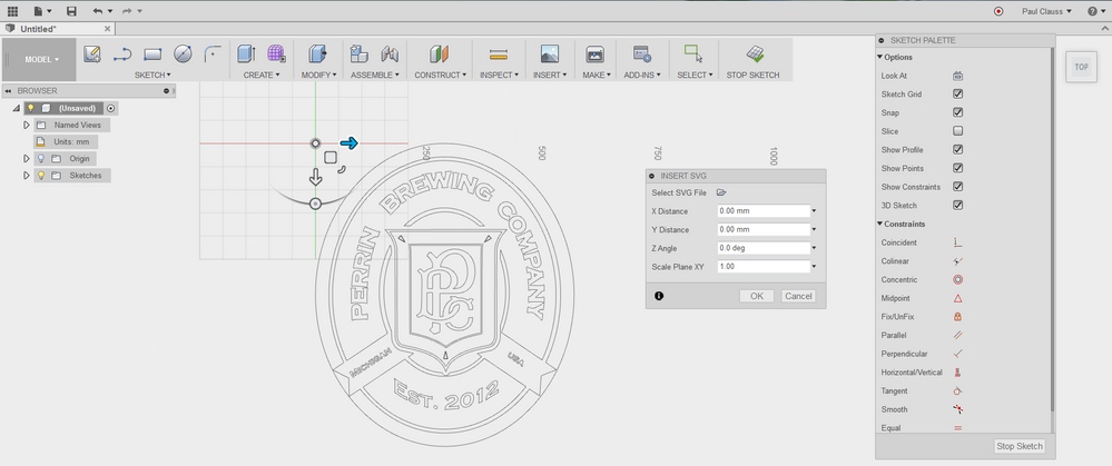How to insert SVG files in Fusion 360 | Search | Autodesk