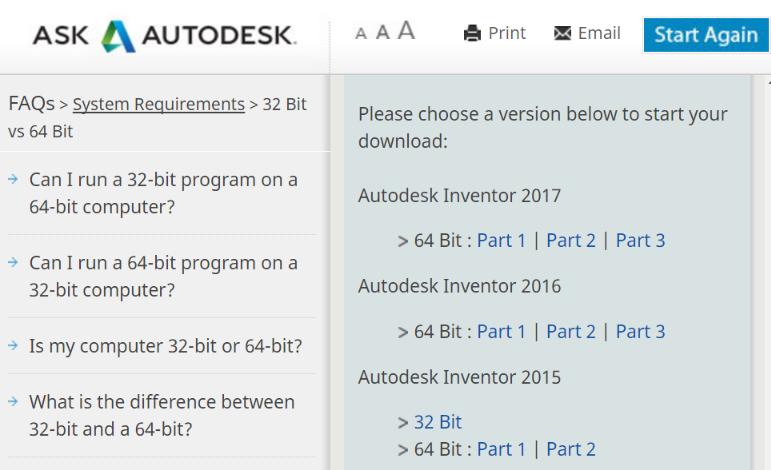 autodesk inventor 2017 32 bit