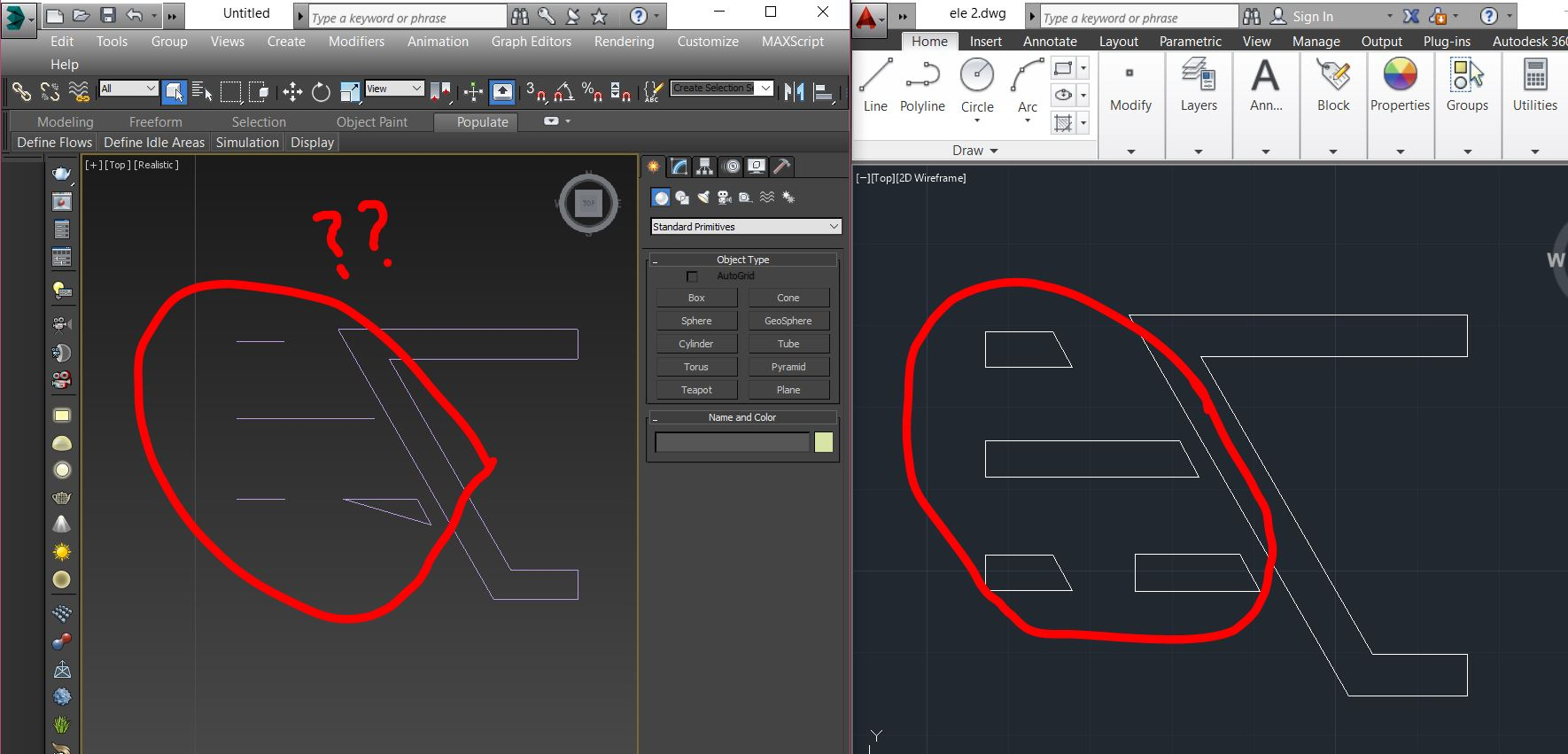 Solved: IMPORT CAD TO 3Ds Max problem - Autodesk Community- 3ds Max