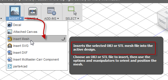 Importing STL files - Autodesk Community- Inventor