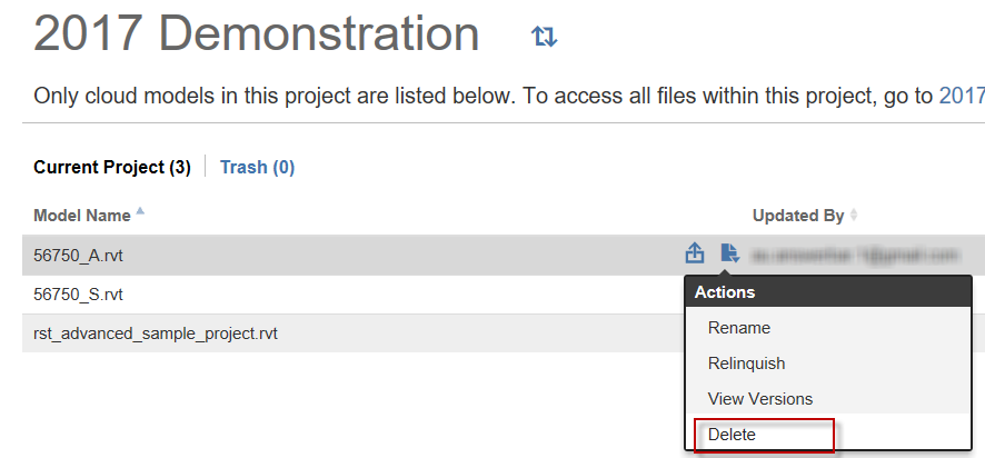 Solved: Delete Files from A360 Team - Autodesk Community- A360