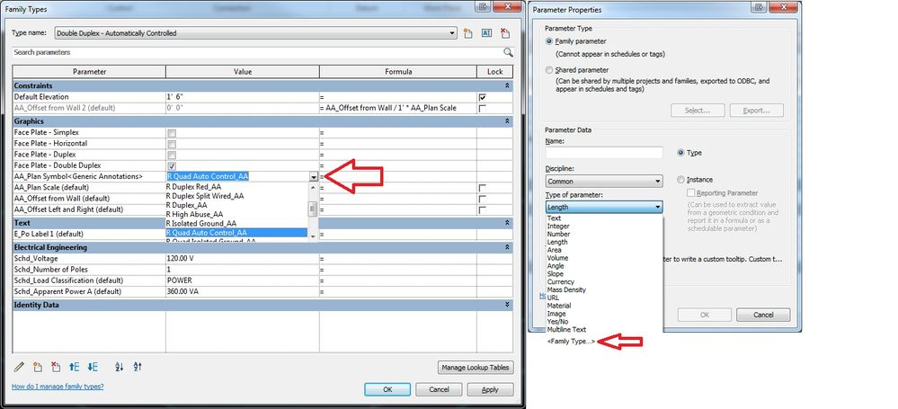 Family Type Symbols - Autodesk Community- Revit Products