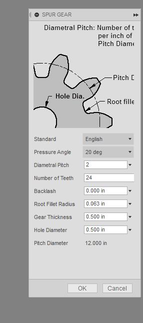 Gear diameter problems - Autodesk Community- Fusion 360