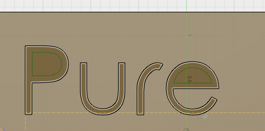 How do I create a single line text for engraving - Autodesk