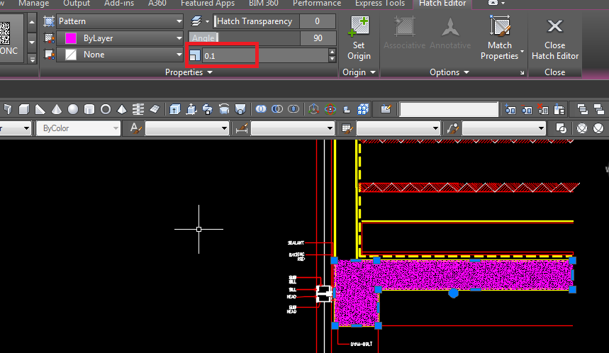 how to add hatch in autocad