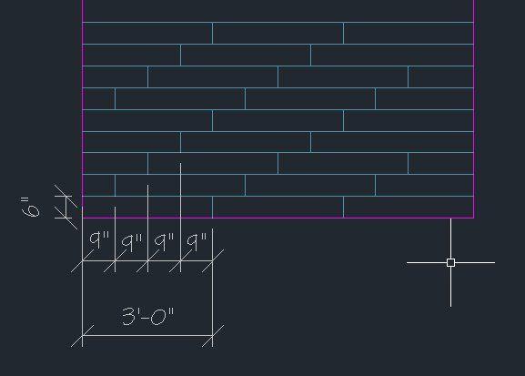 Solved: Custom 6x36 tile Hatch Pattern - Autodesk Community