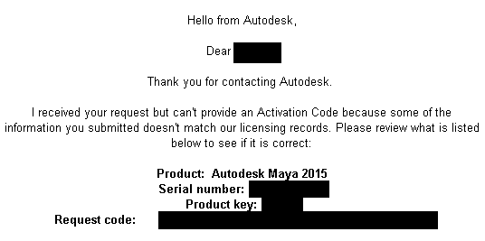 activate autodesk maya 2015 serial number
