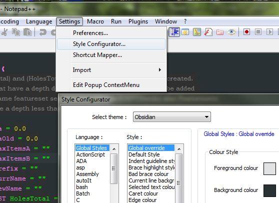 Notepad++ Language for editing PowerMill macros  - Autodesk