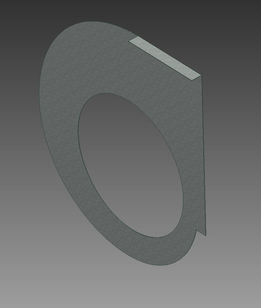 How To Flange A Circular Face Autodesk Community