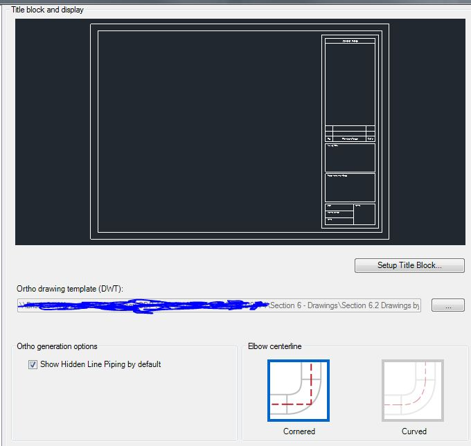 Solved Ortho Template Preview Missing Autodesk Community