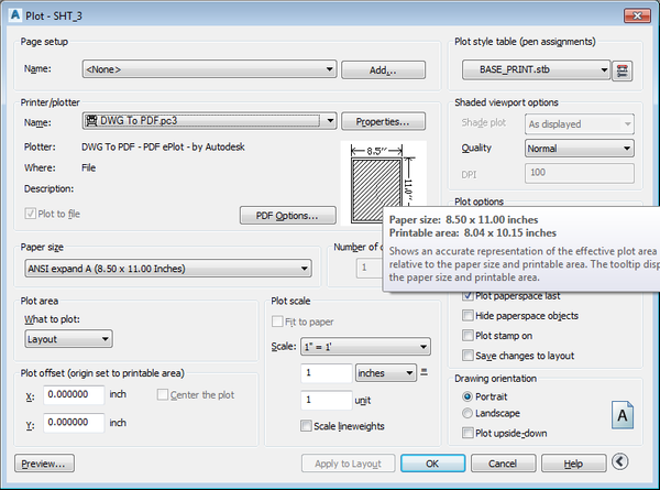 dwg to pdf lineweight problem