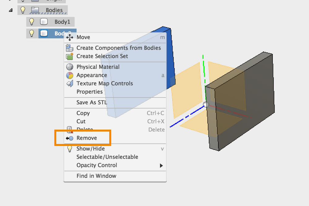 fusion 360 how to get rid of browser layering
