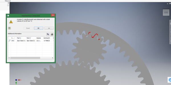 Solved: SPUR GEAR INTERFERENCE - Autodesk Community- Inventor
