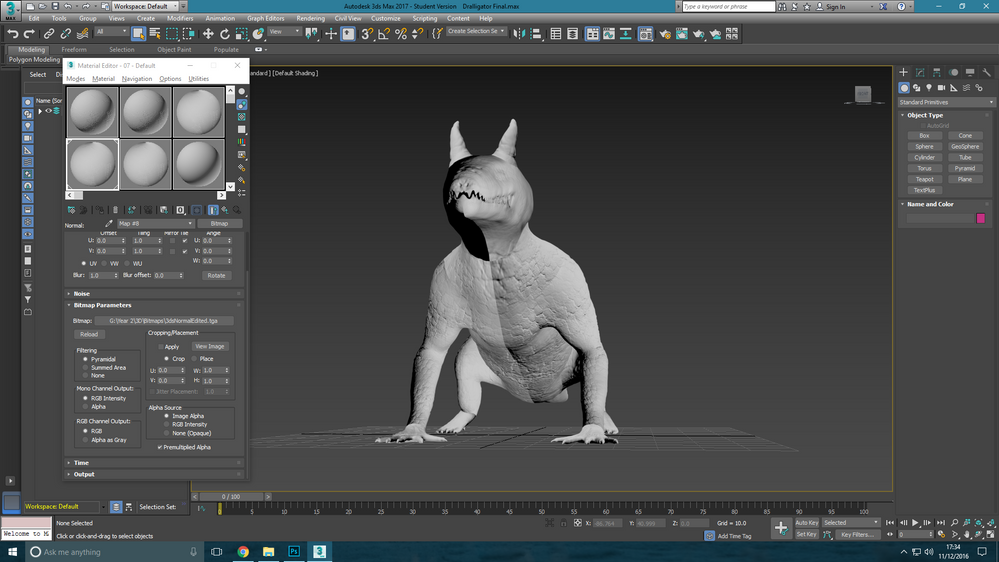 Odd Issue with Normal Maps - Autodesk Community- 3ds Max