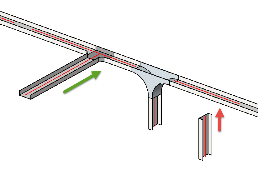 Solved Vertical Tee Cable Tray Fitting Autodesk Community