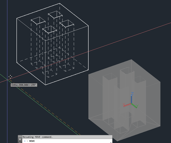 Solved Showing Hidden Lines In Viewports With 3d Models Autodesk