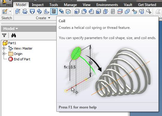 How would you draw a spiral garden hose? - Autodesk Community
