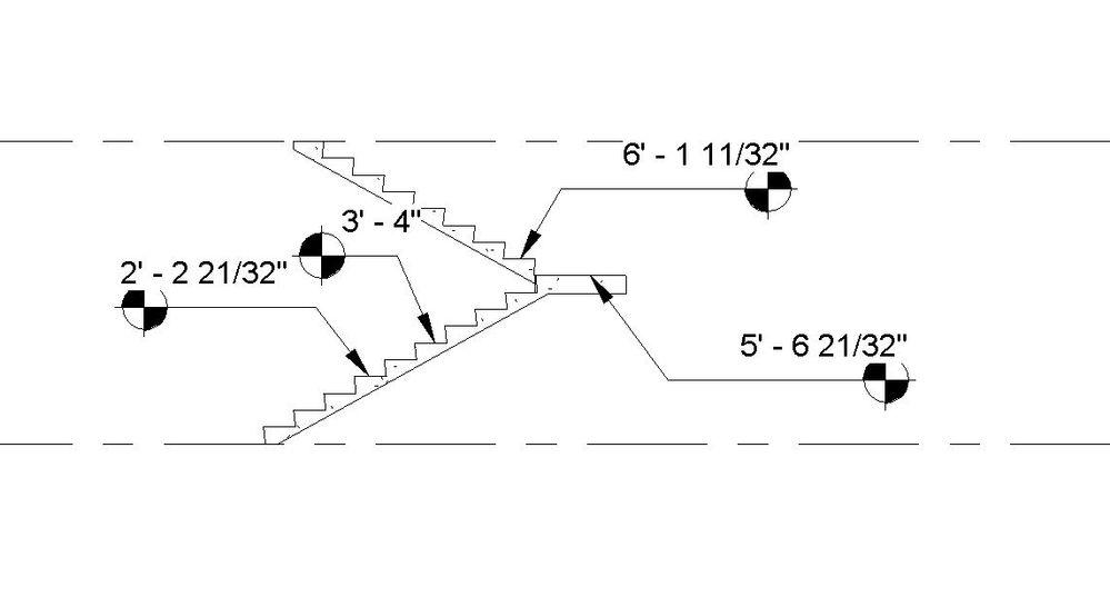 Solved: Spot elevation on stair landings - Autodesk