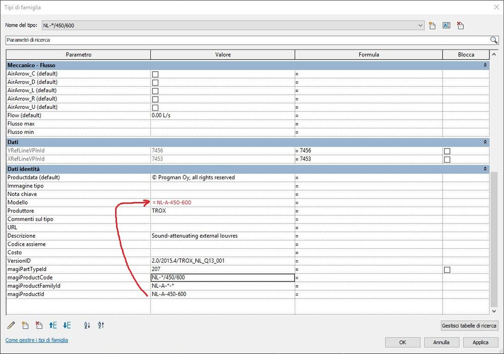 Solved: Edit parameter on all model of type (Family