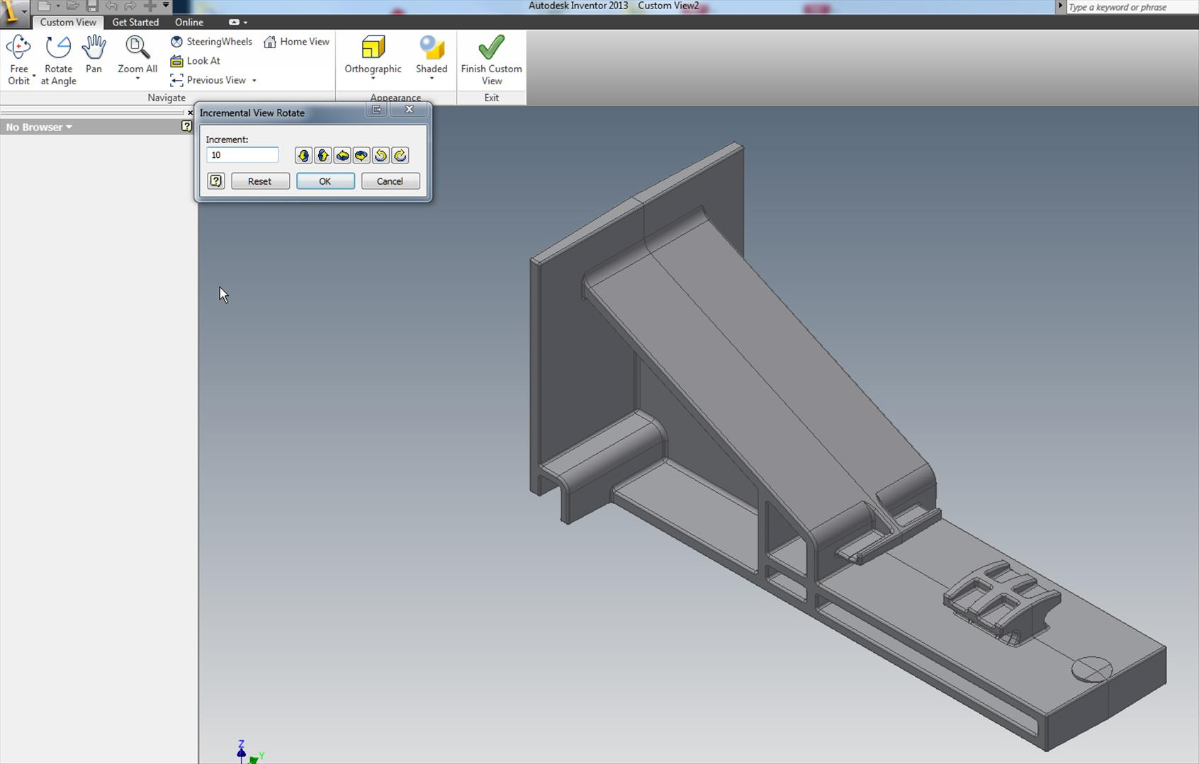 Solved: Change View Orientation U0026 Rotate Angle   Autodesk Community   Inventor