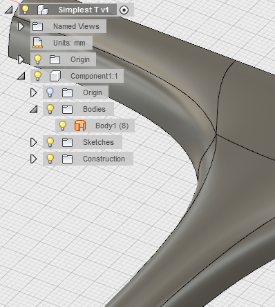 Solved how to hide 39 nurbs 39 surface when editing t spline for T spline architecture