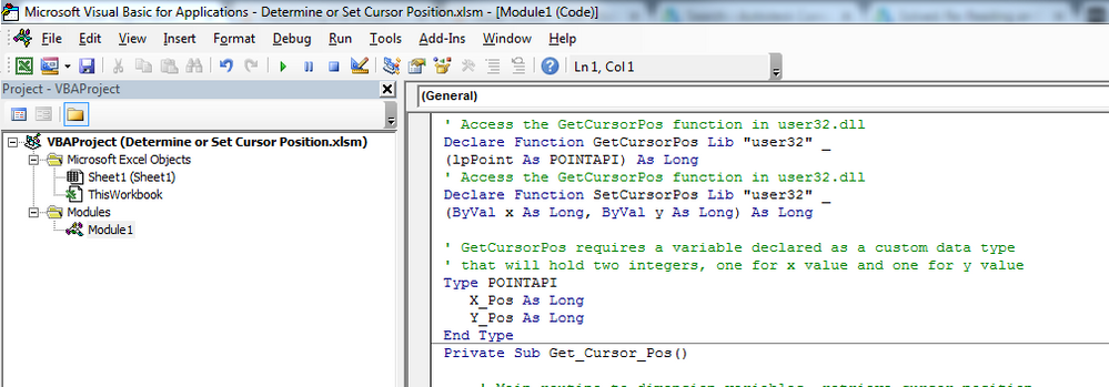 Solved: VBA Place cursor away from part window - Autodesk
