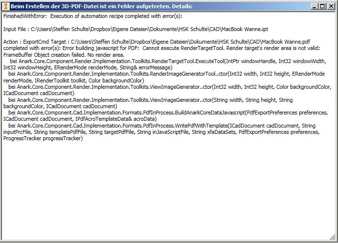 Pdf 3d data parsing error